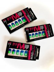 Maybelline Nalepovací nehty Color Show Nail Falsies, č. 08 Side Squared, 24 ks