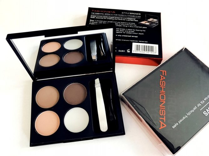 Fashionista Stylebrows The Essential Brow Kit, Sada na úpravu obočí